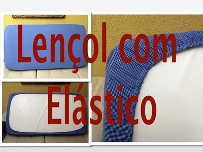 Tutorial de Costura: Como fazer um lençol com elástico para berço, cama de solteiro ou cama de casal