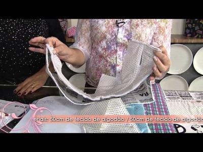 Veja como fazer uma linda mochila para a criançada!