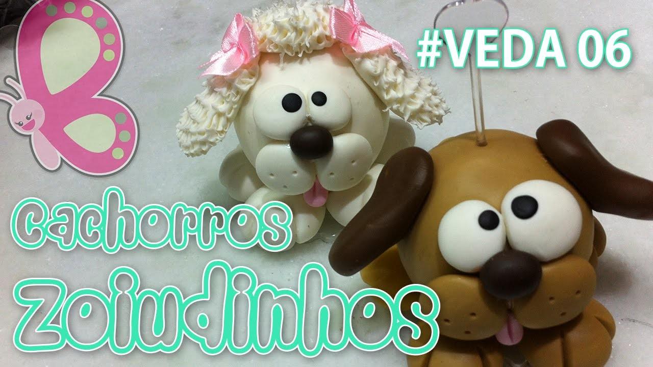 Cachorros Zoiudinhos - Porta recado em Biscuit - Sah Passa o Passo #VEDA 06