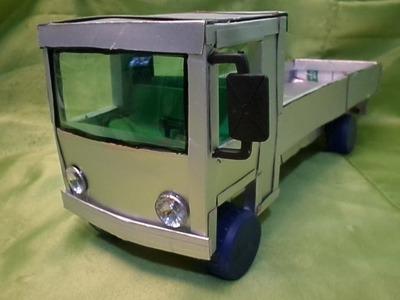 Caminhão 608 Mercedes, caixa de leite e tela'' tutorial 01''