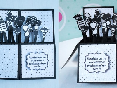 Card Box das Profissões