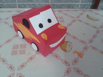 Carro McQueen de Caixa de Leite