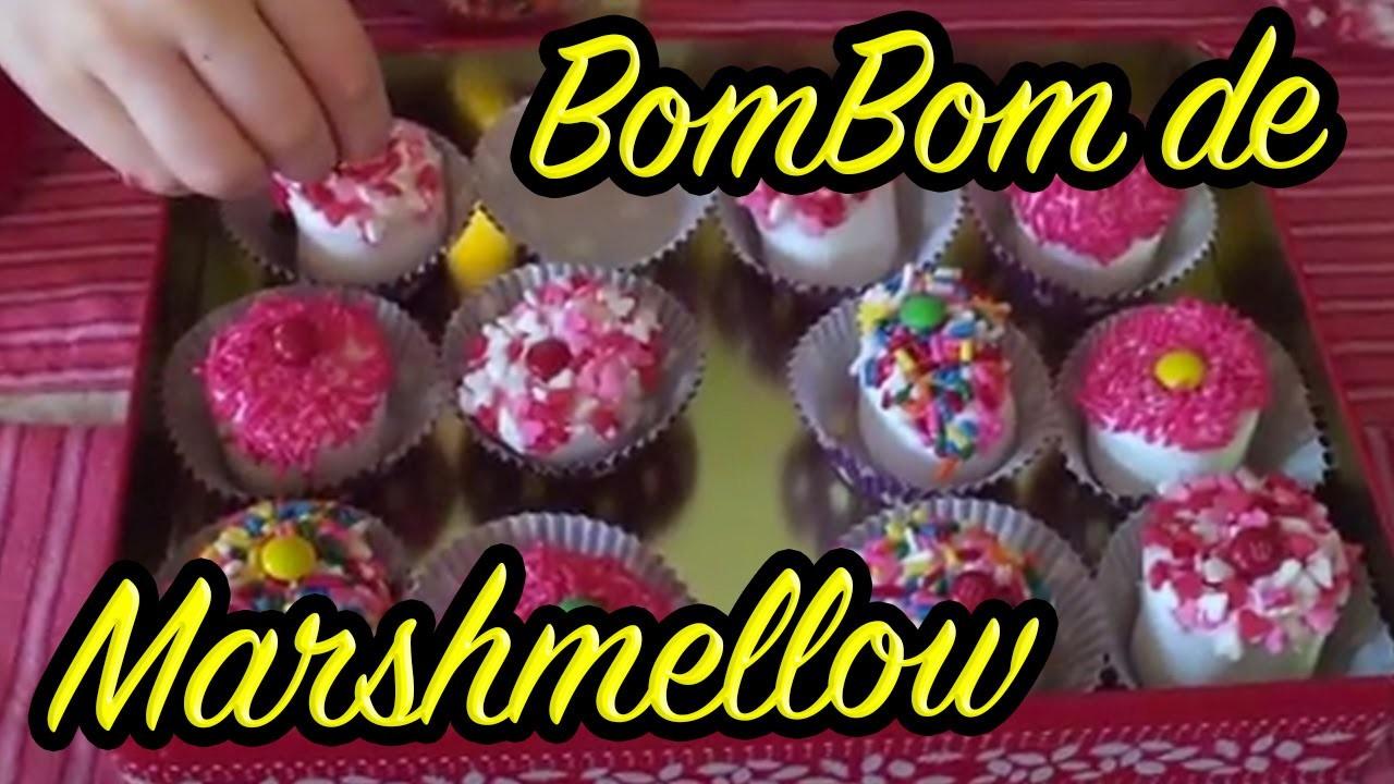 Como fazer Bombom de Marshmellow ou Brigadeiro de Marshmellow