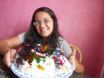 Como fazer gelatina colorida - DIY
