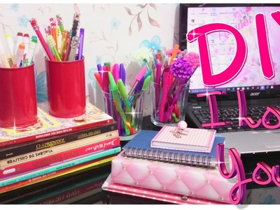 DIY. 4 Dicas Para Organizar o Home Office + Atelier