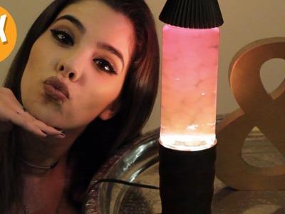 DIY LUMINÁRIA LAVA LAMP (DIY LAVA LAMP)