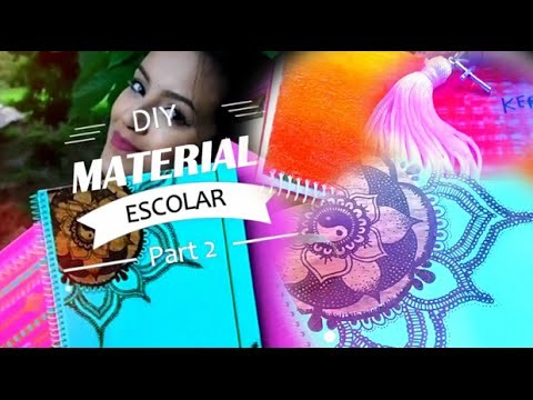 ✂ DIY: MATERIAL ESCOLAR 2016 - Parte 2 | DIY SCHOOL SUPPLIES | Raisa Oliveira