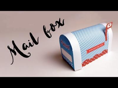 Mini Caixa de Correio para guardar cartas