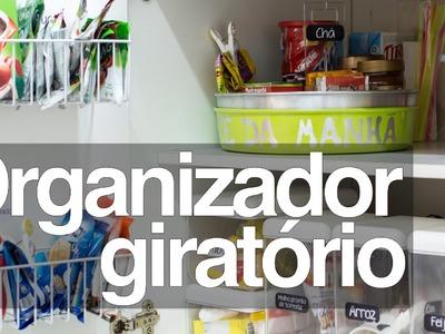 Organizador giratório
