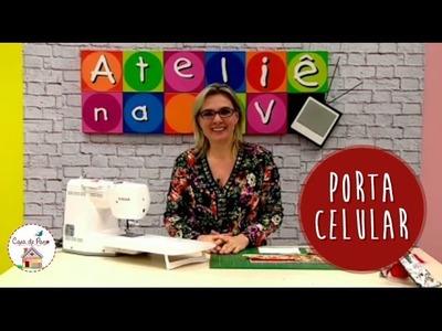 Porta Celular - Tutorial Patchwork