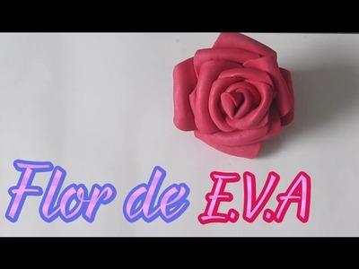 Como Fazer Flor de EVA, Ideal para Buquê de Flores e Decoração - DIY