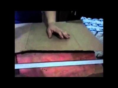 Como fazer Puff de caixa de Leite ou caixa de Suco com Arte Arteira