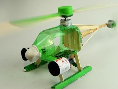 Como fazer um Helicóptero Eléctrico com Garrafa PET