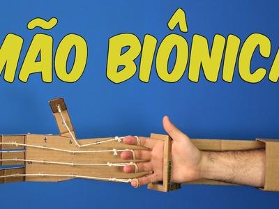 Conheça a incrível mão biônica de papelão