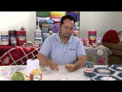 Crochetando com EuroRoma e Marcelo Nunes - Flor Copo de Leite