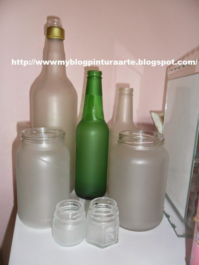 Falso jateado  em vidro e plástico. how to make frosted glass using varnish