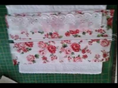 Kit higiene com toalha