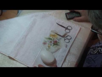 Lu Heringer - Decoupage em Sabonete - Parte 1