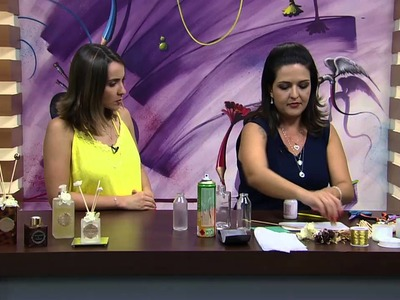 Mulher.com - 06.01.2016 - Vidro jateado - Marisa Magalhães PT1