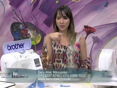 Mulher.com 08.09.2014 Cissa Mesquita - Ponto ajour no linho