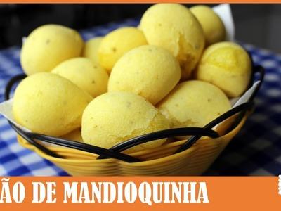 PÃO DE MANDIOQUINHA (FALSO PÃO DE QUEIJO)