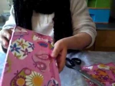 Vamos fazer caixas de presente Reciclada.