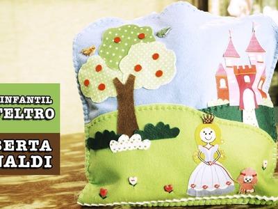 30.10.2014 - Bolsa infantil em FELTRO (Roberta Rinaldi)