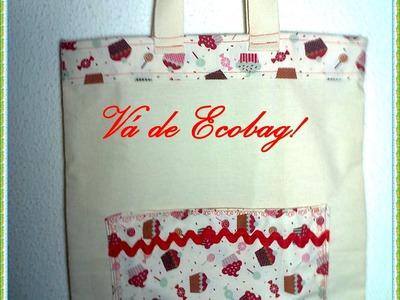 Aprenda a fazer uma Ecobag