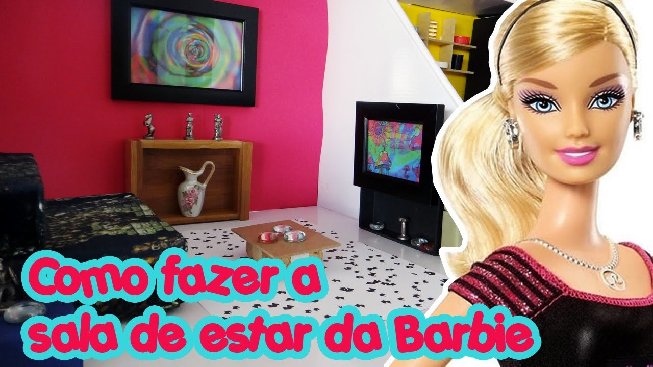 Casa da Barbie - Sala de Estar