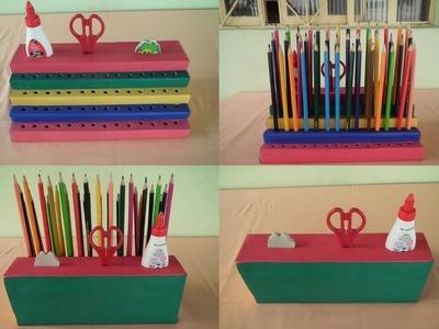 Como fazer um Porta Lápis - Faça o seu  em casa