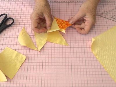 Dica da Tia Lili: como fazer quadrados de triângulo perfeito