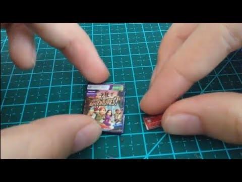 DIY - Como fazer DVD e cartão de crédito para bonecas