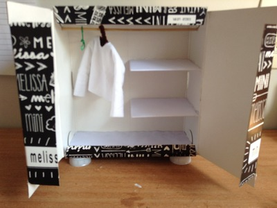 DIY - Como fazer um armário para bonecas