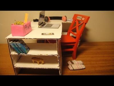 DIY - Como fazer uma mesa para bonecas 2