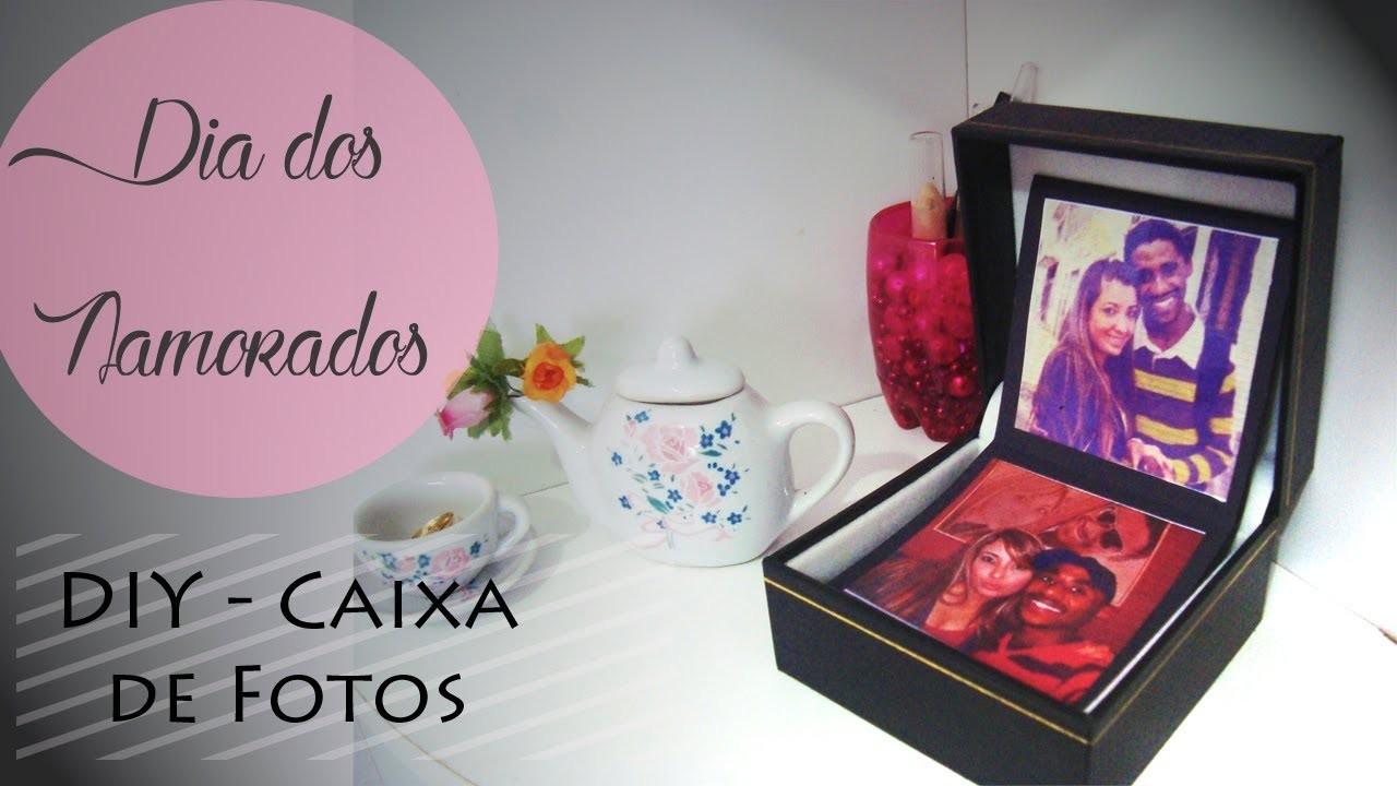 DIY | Presente para o Dia dos Namorados - Caixa de Fotos