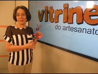 Flor Marmelinho em Resina Plástica com Junko Miazato | Vitrine do Artesanato na Tv
