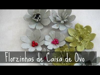 Florzinhas de Caixa de Ovo #2