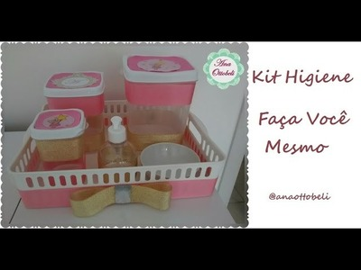 Kit Higiene | Bandeja para itens de troca de fralda