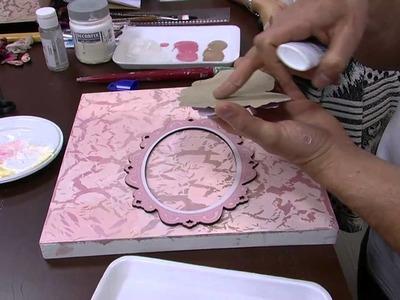 Mulher.com - 01.09.2015 - Caixa craquelada vintage 3d com pintura - Davi Jansen   PT2