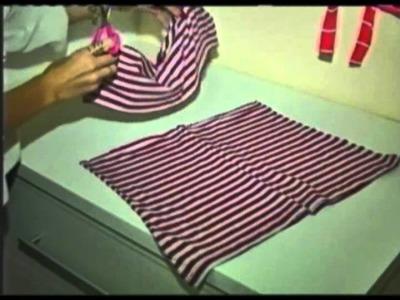 Programa Evidência (11.05.2012) - Faça um cachecol de franja com camiseta