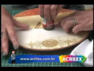 Tv Transamérica - Técnica: Scrap Decor em Madeira