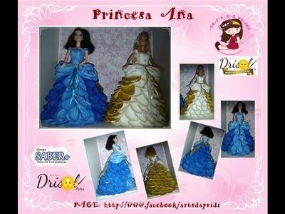 BONECA PRINCESA ANA - Art's da Pridi