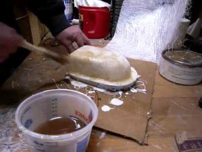 Como usar fibra de vidro fazer um molde