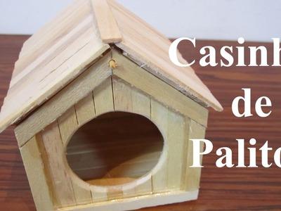 Construindo uma Casinha de Palitos