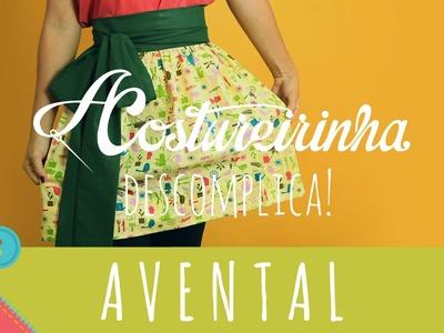 Descomplica! Aprenda a costurar um avental franzido com cós embutido ou cós magia