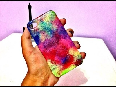 DIY: Case de celular customizada com esmalte