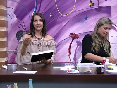 Mulher.com - 21.10.2015 - Quadro gourmet com lousa - Camila Claro De Carvalho P2