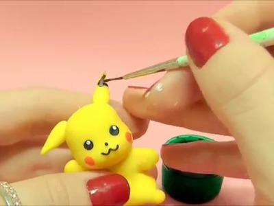 Pikachu POKEMON - Tutorial em Biscuit por Regiane Ribeiro