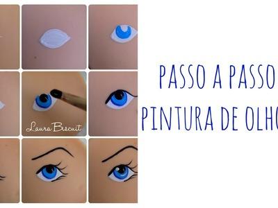 Pintura de Olhos - DIY
