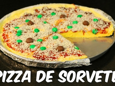 Pizza de sorvete (receita deliciosa)